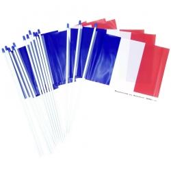 Drapeau France plastique 20x30cm