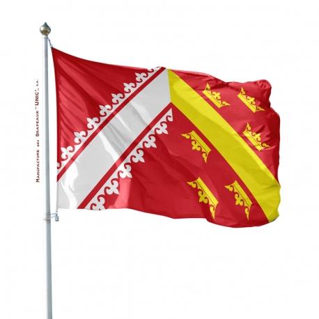 Pavillon Alsace Unic drapeau region