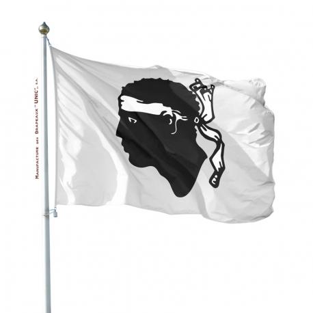 Pavillon Corse Unic drapeau province