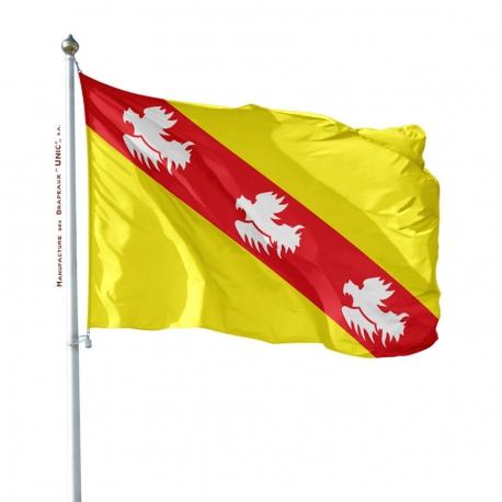 Pavillon Lorraine Unic drapeau region province