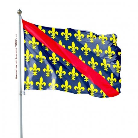 Pavillon Bourbonnais drapeau region Unic