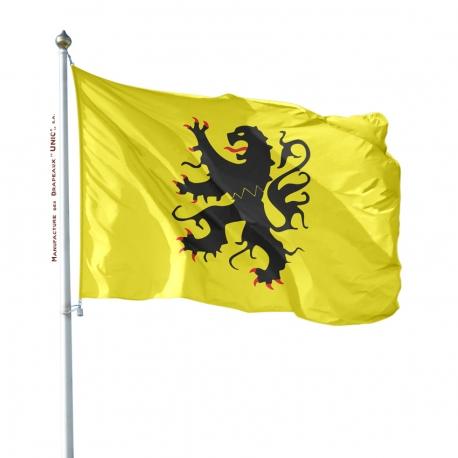 Pavillon Flandre dans drapeaux provinces francaises Unic