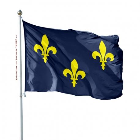 Pavillon Ile de France drapeaux provinces françaises Unic