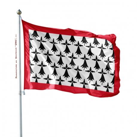 Pavillon Limousin dans drapeau province France Unic