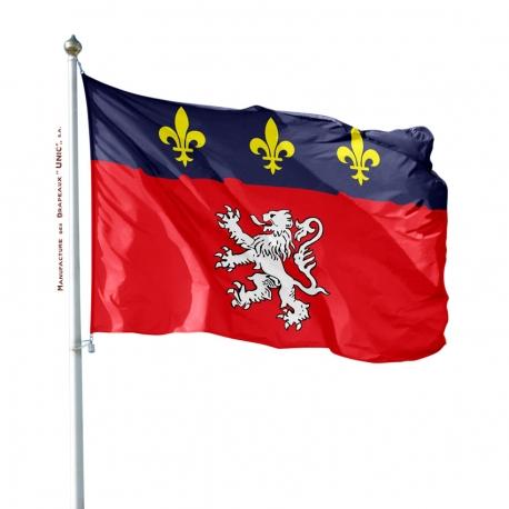 Pavillon Lyonnais dans drapeaux provinces françaises Unic