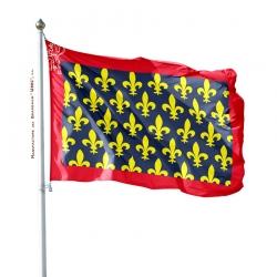 Pavillon Maine dans drapeaux provinces françaises Unic