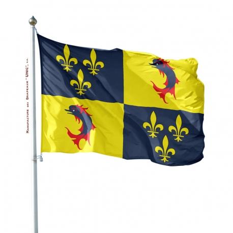 Pavillon Dauphiné Unic drapeau region