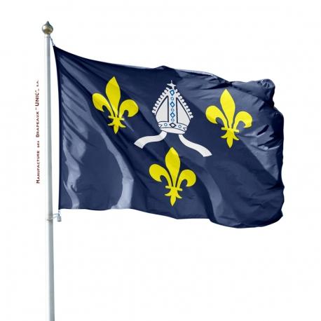 Pavillon Saintonge dans drapeau province France Unic