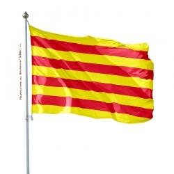 Pavillon Roussillon dans drapeaux provinces françaises Unic
