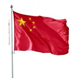 Pavillon Chine drapeau du monde Unic