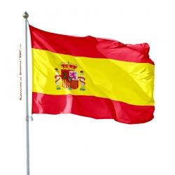 Pavillon Espagne drapeau du monde Unic