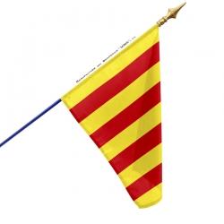 Drapeau Provence en bandes drapeaux provinces françaises Unic