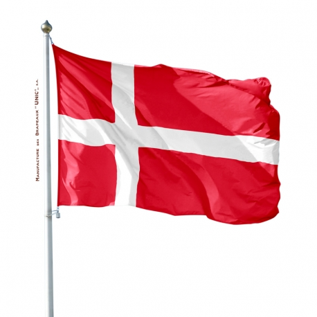 Pavillon Danemark drapeau pays Unic