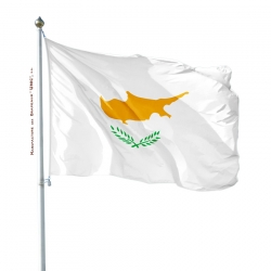 Pavillon Chypre tous les drapeaux Unic