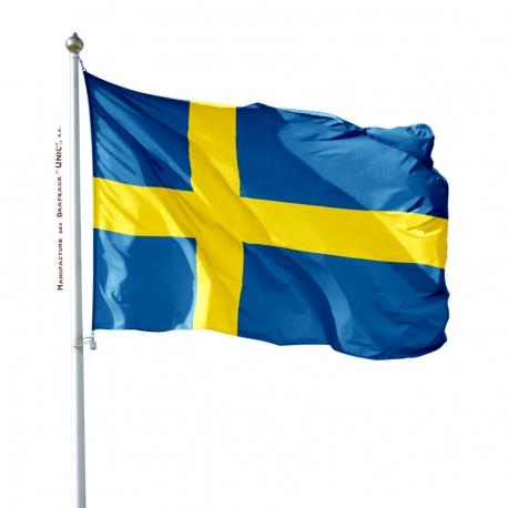 Pavillon Suède drapeau des pays Unic