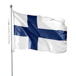 Pavillon Finlande drapeau pays Unic