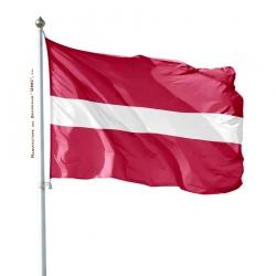 Pavillon Lettonie drapeau du monde Unic
