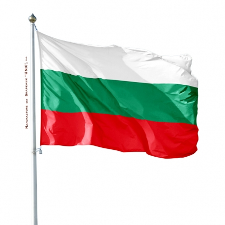 Pavillon Bulgarie drapeau du monde Unic