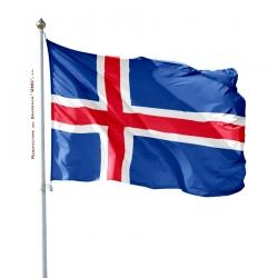 Pavillon Islande drapeau du monde Unic