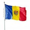 Pavillon Moldavie dans drapeau des Pays Unic