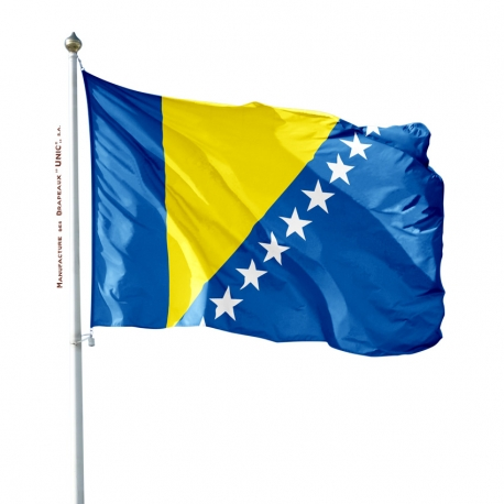 Pavillon Bosnie Herzégovine drapeau pays Unic