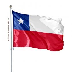 Pavillon Chili Unic drapeau du monde