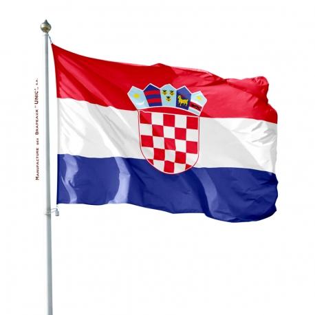 Pavillon Croatie drapeau pays Unic