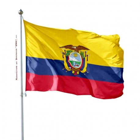 Pavillon Equateur drapeau du monde Unic