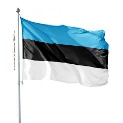 Pavillon Estonie drapeau du monde Unic