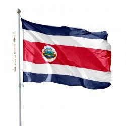 Pavillon Costa Rica drapeau du monde Unic