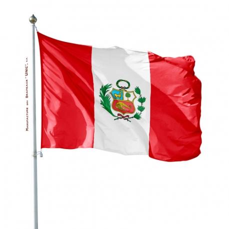 Pavillon Pérou drapeaux des pays Unic