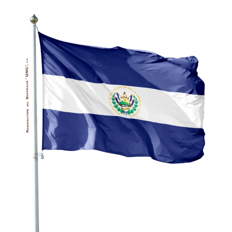 Pavillon Salvador drapeau du monde Unic