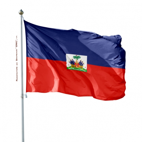 Pavillon Haïti drapeau des pays Unic