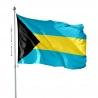 Pavillon Bahamas drapeau pays Unic