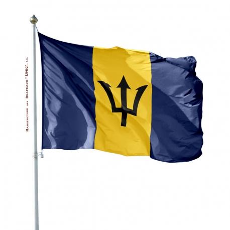 Pavillon Barbade drapeau pays Unic