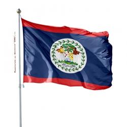 Pavillon Belize drapeau pays Unic