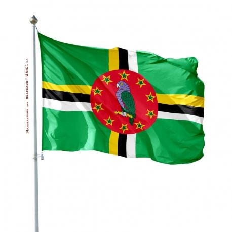 Pavillon Dominique drapeau pays Unic