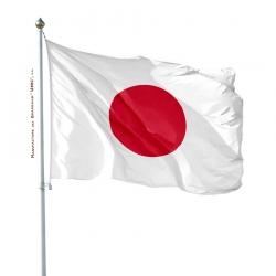 Pavillon Japon drapeau du monde Unic
