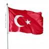 Pavillon Turquie drapeaux des pays d'Asie