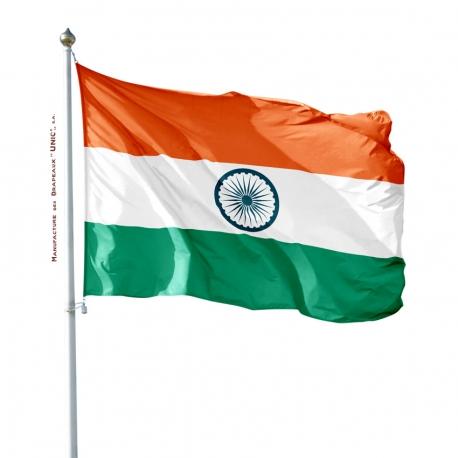 Pavillon Inde drapeau du monde Unic