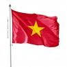 Pavillon Vietnam drapeaux des pays d'Asie