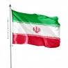 Pavillon Iran impression drapeau Unic