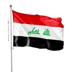 Pavillon Irak impression drapeau Unic