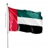 Pavillon Emirats Arabes Unis drapeau pays Unic