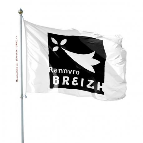 Pavillon Bretagne Unic drapeau région