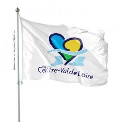 Pavillon Centre Val de Loire drapeau région Unic