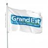 Pavillon Grand Est drapeau région Unic