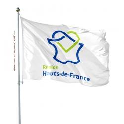 Pavillon Hauts de France drapeau region Unic