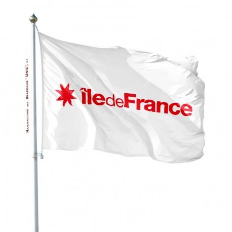 Pavillon Ile de France drapeau région Unic