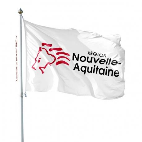 Pavillon Nouvelle Aquitaine drapeau région Unic